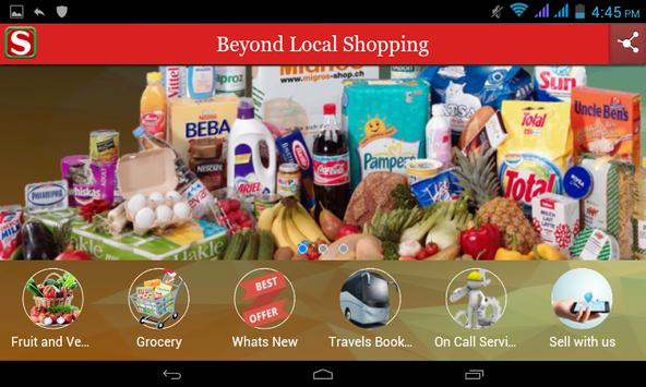 Saral shopping apk screenshot