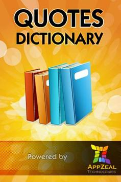 Quotes Dictionary poster