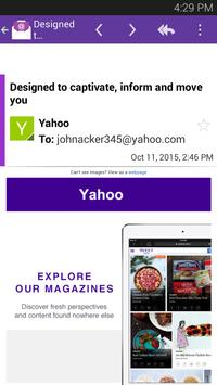 Email for Yahoo Mail App poster