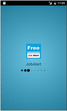Free Job Alert - Govt and Pvt. poster