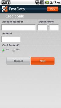 First Data Mobile Pay apk screenshot