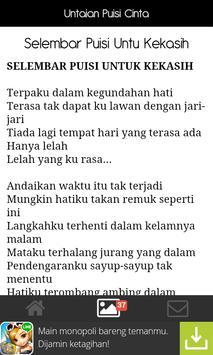Untaian Puisi Cinta apk screenshot