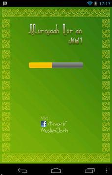 Murojaah Qur'an poster
