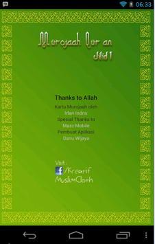 Murojaah Qur'an apk screenshot