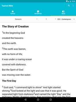 Topical Bible apk screenshot