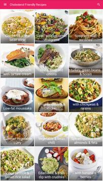 Cholesterol Friendly Recipes poster
