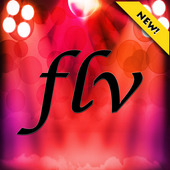 Online flv flash player icon