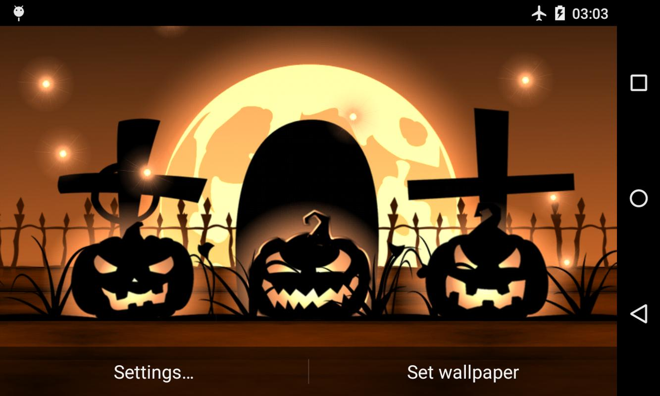 halloween live wallpaper free apk download free