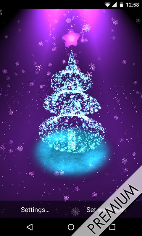 christmas tree live wallpaper apk download free personalization app