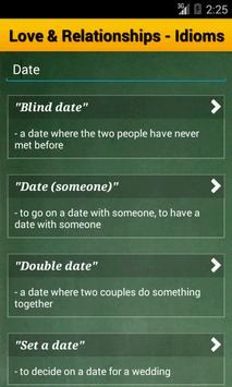 Idioms and Phrases Dictionary apk screenshot