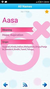 Indian Baby Names & Meaning ♂♀ apk screenshot