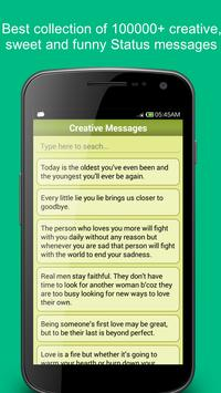 Status and Quotes Collection ! apk screenshot