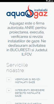 AquaGaz Verificare Revizie Gaz apk screenshot