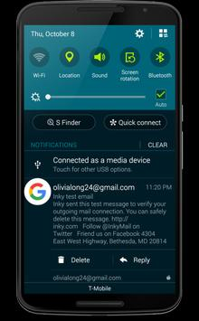Inky Mail Pro - Email apk screenshot
