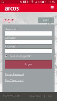 ARCOS Mobile QA apk screenshot