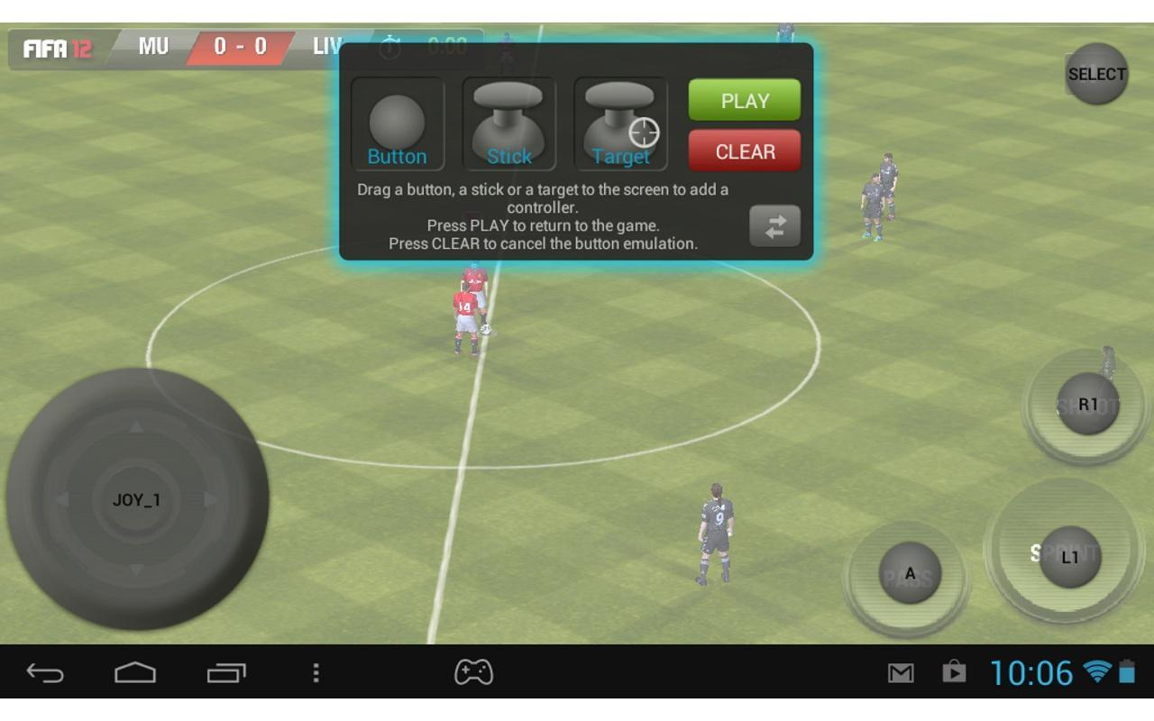 Key mapping gamepad android app