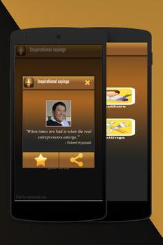 Inspirational Sayings apk screenshot
