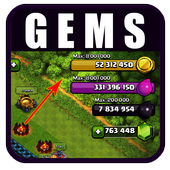 Gems for Clash of Clans icon