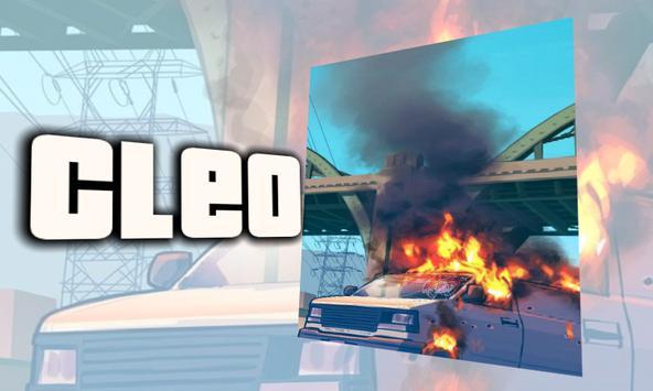Cleo mod for GTA SA apk screenshot