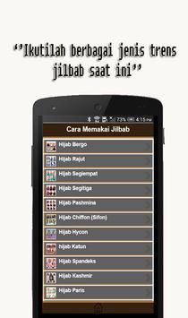 Cara Memakai Jilbab apk screenshot