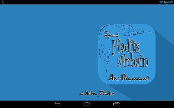 arbain nawawi apk screenshot