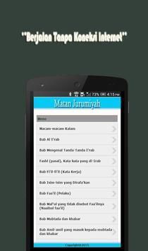 Kitab Matan Jurumiyah apk screenshot