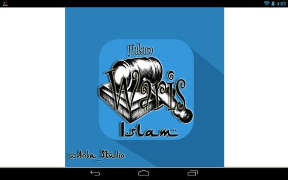 Hukum Waris Islam apk screenshot