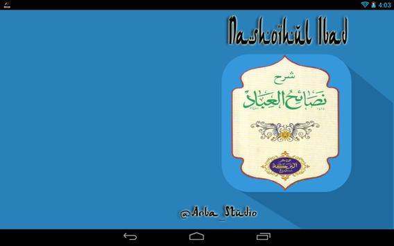 Nashoihul Ibad Terjemah apk screenshot