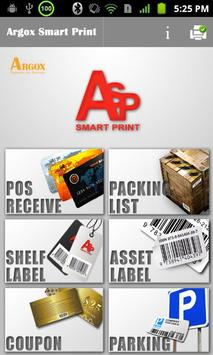 Argox Smart Print poster