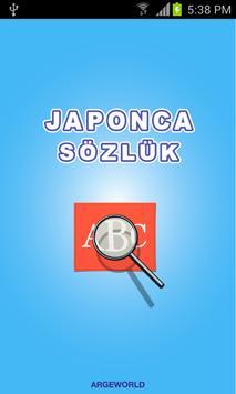 Japonca Sözlük poster