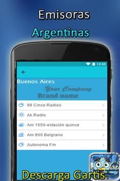 Argentinas stations apk screenshot