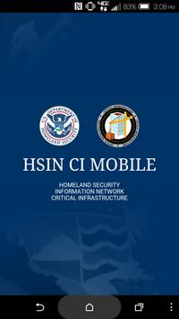 HSIN CI Mobile poster