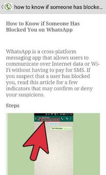 Guide on Whatsapp Messenger apk screenshot