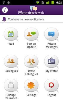 Sociodesk apk screenshot