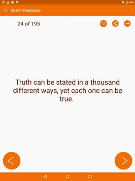 Swami Vivekananda Quotes apk screenshot