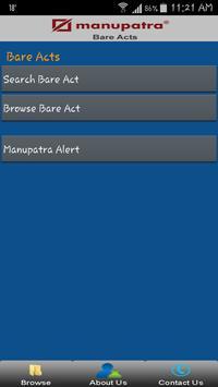 Manupatra Statutes/Bare Acts poster