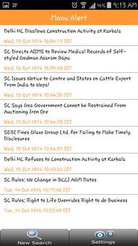 Manupatra Supreme Court apk screenshot