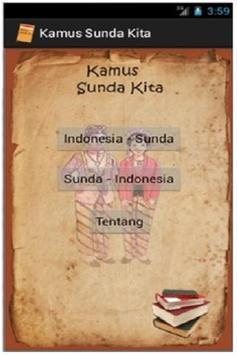 Kamus Sunda Kita poster