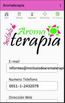 Aromaterapia poster