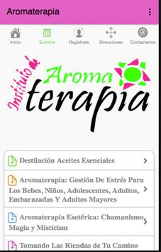 Aromaterapia apk screenshot