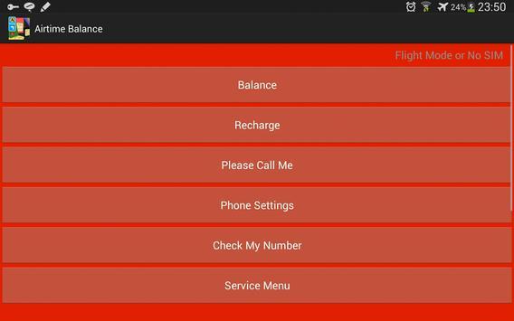 Airtime Balance V South Africa apk screenshot