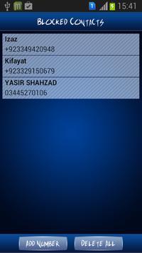 Call and Message Blocker apk screenshot