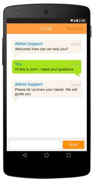 CustomerConnect apk screenshot