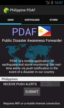 PDAF Philippines apk screenshot