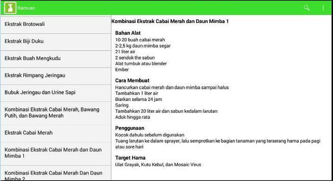 Pestisida Nabati (ARPENA) apk screenshot