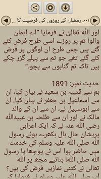 Hadith Sahih Bukhari in Urdu poster