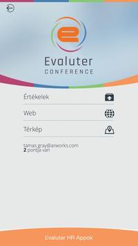 Evaluter Conference apk screenshot