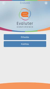 Evaluter Conference poster