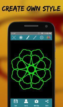 Diwali Rangoli design Maker apk screenshot