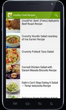 Healthy Cook Recipes apk screenshot